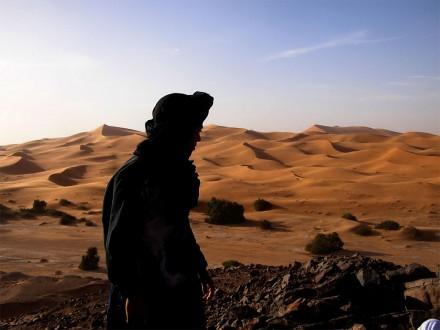 paysages maroc dunes de merzouga